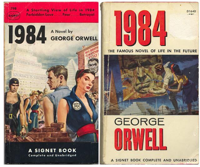 """Kết quả hình ảnh cho Tiểu thuyết """"1984"""" của George Orwell"""